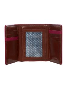 Piped Edgetri-Fold Wallet