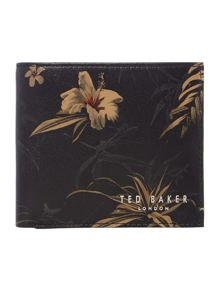 Floralpatterned Bi-Fold Wallet