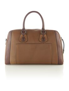 Stripeleather Holdall