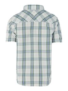 Benetton Boys Large Check Shirt