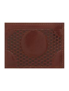 Spot Embossed Patterned Card Holder