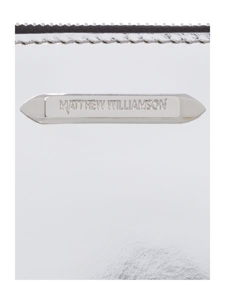 Matthew Williamson Evening silver pouchette