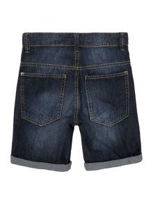 Benetton Boys Turn Up Denim Shorts