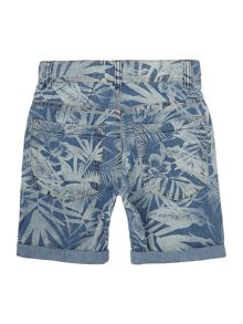 Benetton Boys Palm Print Shorts