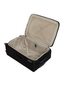 Samsonite Base Hits black 4 wheel large case