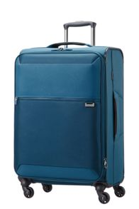 Samsonite Short-Lite petrol blue 4 wheel 66cm spinner