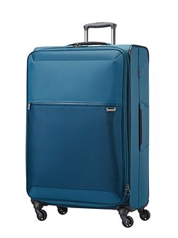 Short-lite navy 4 wheel 77cm large suitcase