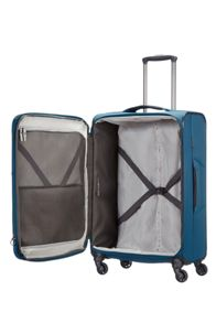 Samsonite Short-lite navy 4 wheel 77cm large suitcase