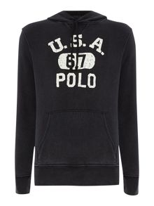 Polo Logo Hooded Sweater