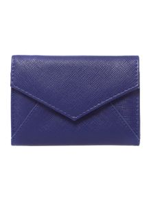 Saffiano carey envelope coin purse