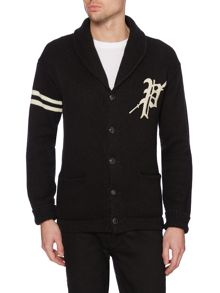 Polo Ralph Lauren Shawl Neck Logo Cardigan