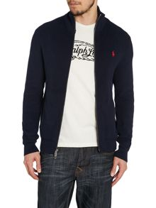 Plain Zip Through Jumper