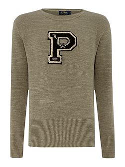 Logo Crew Neck Pull Over Jumper