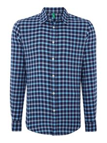 Check Classic Fit Long Sleeve Shirt