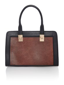 Hannah square bowler bag