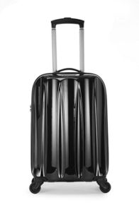 Antler Tiber 4 wheel black soft cabin suitcase