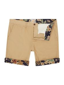 Haulover Regular Fit Contrast Short