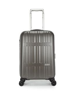 Antler Jupiter charcoal 4 wheel hard cabin suitcase