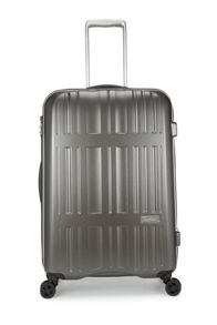 Jupiter charcoal 4 wheel hard medium suitcase