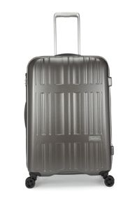 Antler Jupiter charcoal 4 wheel hard medium suitcase