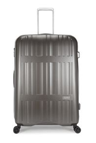Jupiter charcoal 4 wheel hard large suitcase