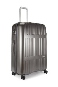 Antler Jupiter charcoal 4 wheel hard large suitcase