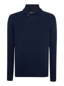Shackleton Shawl Neck Jumpers
