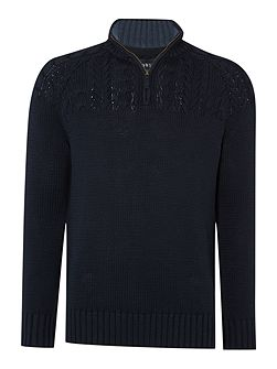 Stow Cable With Zip Funnel Neck