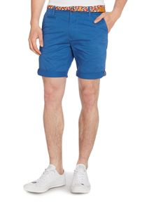 St Plain Regular Fit Chino Shorts