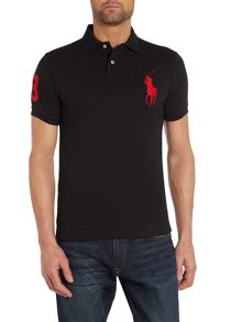 Slim Fit Big Pony Polo Shirt