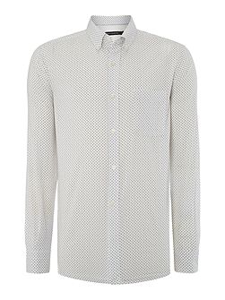 Nerine Ditsy Polka Dot Slim Fit Shirt