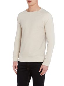 All Over Fleck Crew Neck Jumper