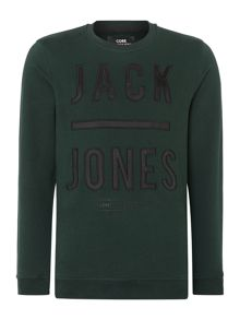 Jack & Jones Mens Long Sleeve Hit Sweater