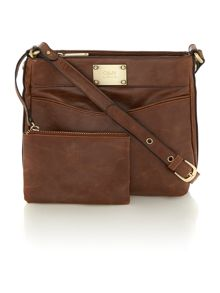 Noah tan crossbody bag