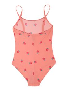 Girls strawberry swimsuit