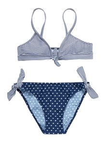 Girls stars and stripes bikini