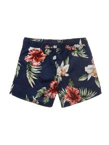 Boys floral swim short