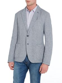 Benetton Casual Linen Mix Blazer