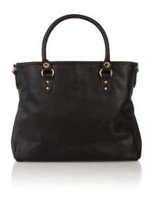 Simon black tote bag