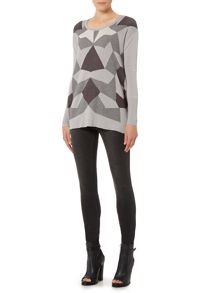 Label Lab Intarsia jumper
