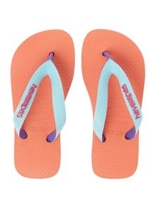 Girls Multi Colour Top Mix Flip Flop