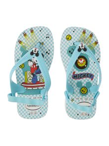 Newborn Boy Disney Mickey Flip Flop