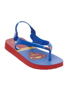 Newborn Boy Superman Flip Flop