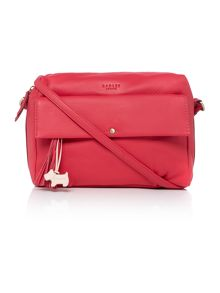 Blackheath red medium crossbody bag