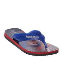 Boys Superman Flip Flops