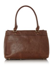 Noah tan crossbody tote bag