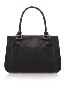 Nicholas black toe bag