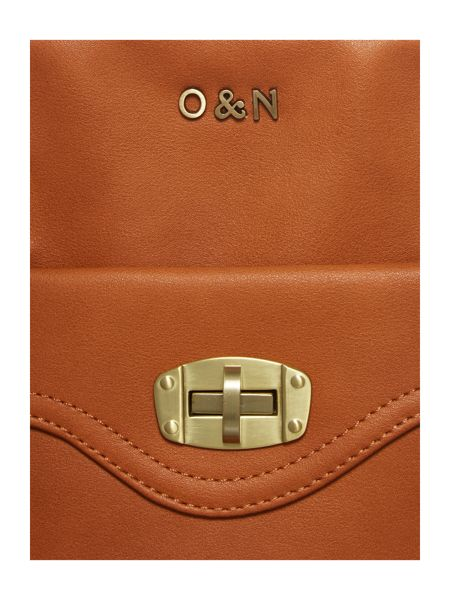 Ollie & Nic Emmy tan satchel bag
