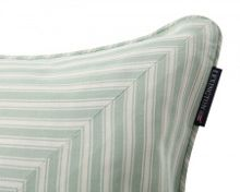 Ticking striped sham with inner 50x50, Green