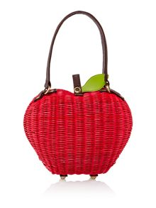 Delicious apple red bag